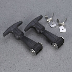 2 Pack Flexible Draw Latch Stainless Steel Small Epdm Rubber T Handle Latch Us
