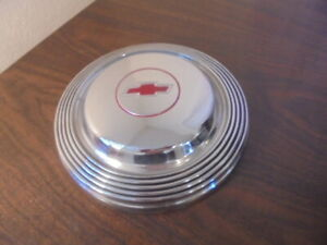 1965 1966 Chevrolet Bel Air Biscayne Nice Used Early Takeoff Dogdish Hubcap