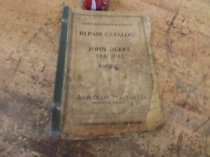 8 Antique John Deere Tractor A B D G H Hit Miss Engine Dealers Repair Manuals