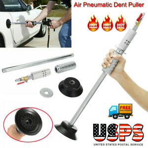 Air Pneumatic Dent Puller Car Auto Body Repair Suction Cup Slide Tool Hammer New