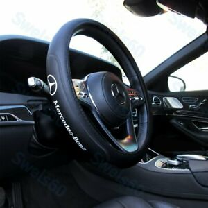 15 Car Steering Wheel Cover Faux Leather For Mercedes Benz Amg 2019 Free Gift