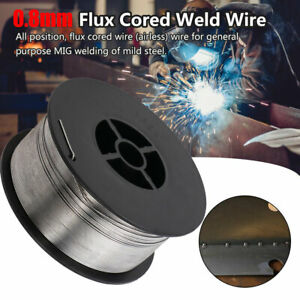 0 8mm 0 03 10 lb Spool Stainless Steel Flux Cored Gasless Mig Welding Wire Usa