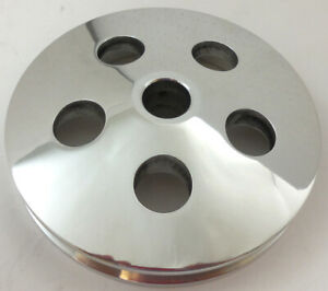 Type 2 Power Steering Pulley Type Ii Polished Aluminum