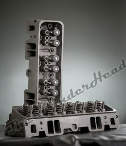 Pair Of 5 7 Chevy Gmc 350 Vortec 906 Cylinder Heads 1996 2002 Sbc Trucks Vans
