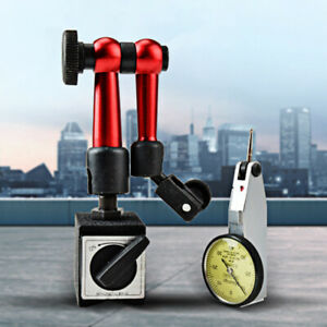 Flexible Magnetic Base Holder Stand Tool For Dial Gauge Test Indicator