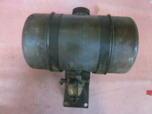 Vintage Wisconsin Akn Engine Fuel Gas Tank Approx 10 Long X 5 3 4 Od