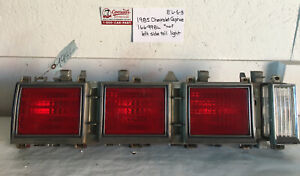 Used Vintage Chevrolet Caprice 1985 Left Side Tail Light Drivers Quality