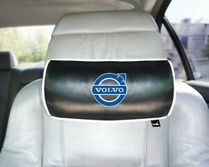Volvo Embroidery Print Car Black Pillow car Seat Pillow Neck Rest personalised