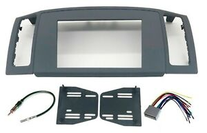 Double Din Dash Install Radio Kit Wiring Harness Fits 05 07 Jeep Grand Cherokee