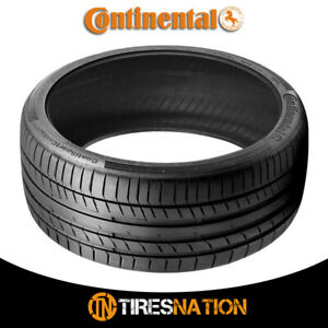 1 New Continental Contisportcontact 5 225 45 17 91w Performance Summer Tire