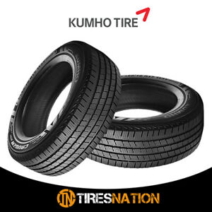 2 New Kumho Crugen Ht51 P265 75r16 114t All Season Highway Tire