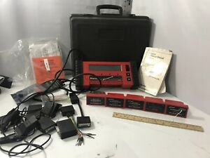 Snap on Mt2500 Diagnostic Scanner With Cartridges Gm Ford Jeep Chrysler