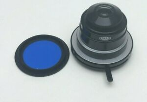 Olympus Tokyo Japan 1 25 Microscope Condenser W Blue Filter Part Off Ch 2 chs