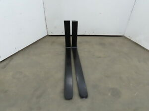 Forklift Forks 4 x42 Class 2 Cam Latch Style 1 Pair