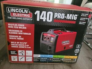 Lincoln Electric 140 Pro mig Mig flux Corded Wire Feed Welder K2480 1