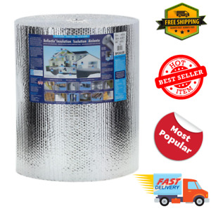 Double Reflective Insulation Roll 24 In X 100 Ft Reflectix Durable Lightweight