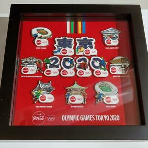 2020 Tokyo Olympic Coca-Cola pin badge set Rare limited to 200 pieces