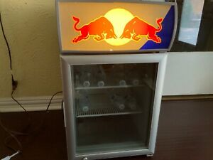 Red Bull Mini Refrigerator Baby Cooler W 2n Man Cave Bar Beer Coole