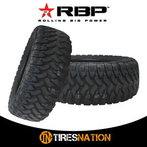 2 New Rbp Repulsor M T Lt315 75r16 127 124q Performance Off Road Mud Tires