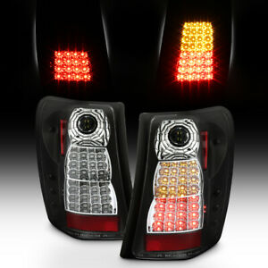 Black 1999 2004 Jeep Grand Cherokee Perform Led Tail Lights Brake Lamps 99 04