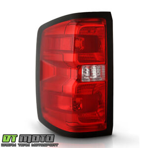 2014 2018 Chevy Silverado 1500 Non led Type Tail Light Lamp W harness Lh Driver