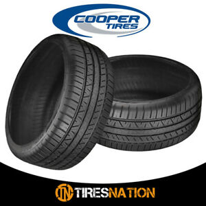 2 New Cooper Zeon Rs3 G1 255 45r20 101w Tires