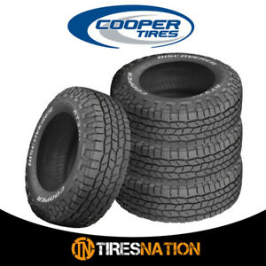 4 New Cooper Discoverer At3 Xlt Lt285 75r17 10 121s Tires