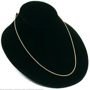 Black Velvet Necklace Pendant Bust Jewelry Showcase Display 4