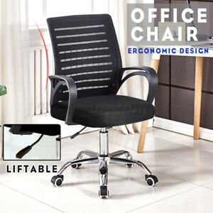 37in Executive Swivel Ergonomic Mesh Office Chair High Back Computer Desk Chair