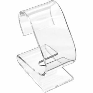 Clear Acrylic Watch Holder Display Stand Showcase Countertop Kit 32 Pcs
