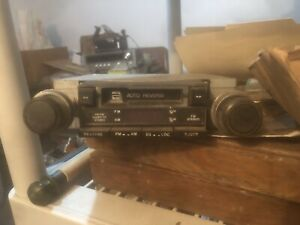 Vintage Sanyo Car Stereo Am Fm Radio Cassette Player Fits