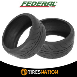 2 New Federal 595rs Pro 215 40zr17 Xl 87w Tires