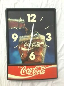 Vintage COCA COLA CLOCK - Looks Great!