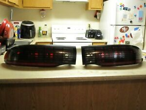 1993 1997 Pontiac Formula Firebird Trans Am Rear Tail Lights Pair Lh Rh Oem