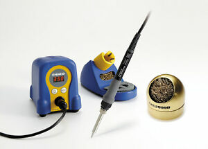 Hakko Fx888d 23by Soldering Station With 599b 02 Waterless Tip Cleaner