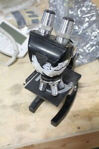 Bausch Lomb Microscope Loaded Objectives 10x Eye Pieces