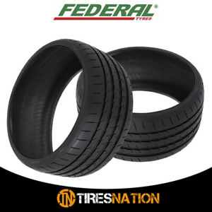 2 New Federal Evoluzion St 1 215 40zr17 Tires