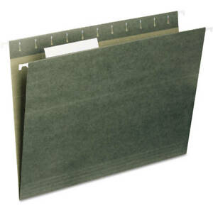 2 Pack Universal Hanging File Folders 1 5 Tab 11 Point Stock Legal Standard