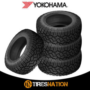 4 New Yokohama Geolander X at Lt265 70r17 121 118q E Tires