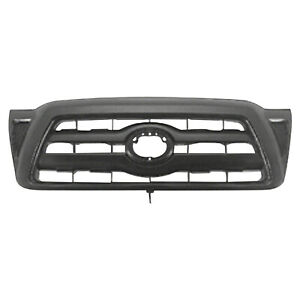 Cpp Gray Grill Assembly For 2005 2010 Toyota Tacoma Grille