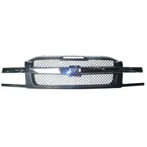 Grill Assembly For 2002 2006 Chevrolet Avalanche 1500 Avalanche 2500 Grille