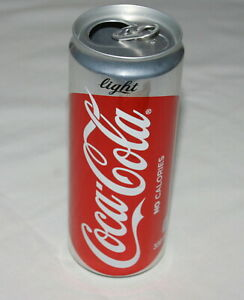 Coca Cola Light empty can from The Philippines