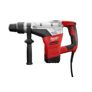 Milwaukee Rotary Hammer 1 9 16 In Sds max Keyless Chuck Corded Red