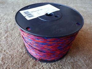 General Cable Cross Connect Telephone Wire 24 Awg 2 Pair 1150 M12