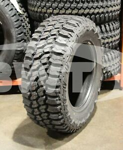 4 New 33x12 50 18 Thunderer Trac Grip M T Mud 12 50r R18 Tires