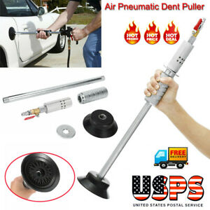 Car Auto Body Dent Puller Repair Slide Hammer Tool Air Pneumatic Suction Kit