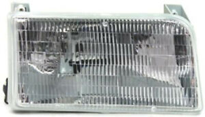 Right Passenger Headlight Head Lamp For 92 96 Ford Bronco F 150 F 250 F 350