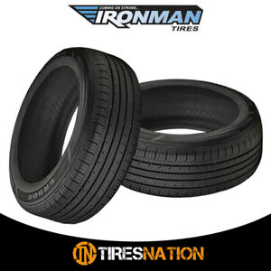 2 New Ironman Gr906 175 70 14 84t Standard Touring All Season Tire
