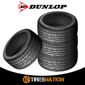 4 New Dunlop Sp Sport 5000 245 50 17 98w Ultra High Performance Tire