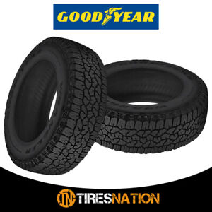 2 New Goodyear Wrangler Trailrunner At 31 10 5 15 109r Precise Traction Tires